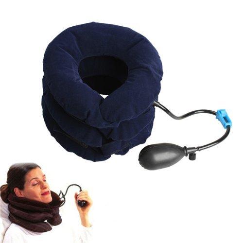 Vktech Manuell Nacken Hals Massagegerät (Blau)