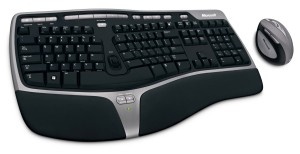 Microsoft Natural Ergonomic Desktop 7000 Tastatur
